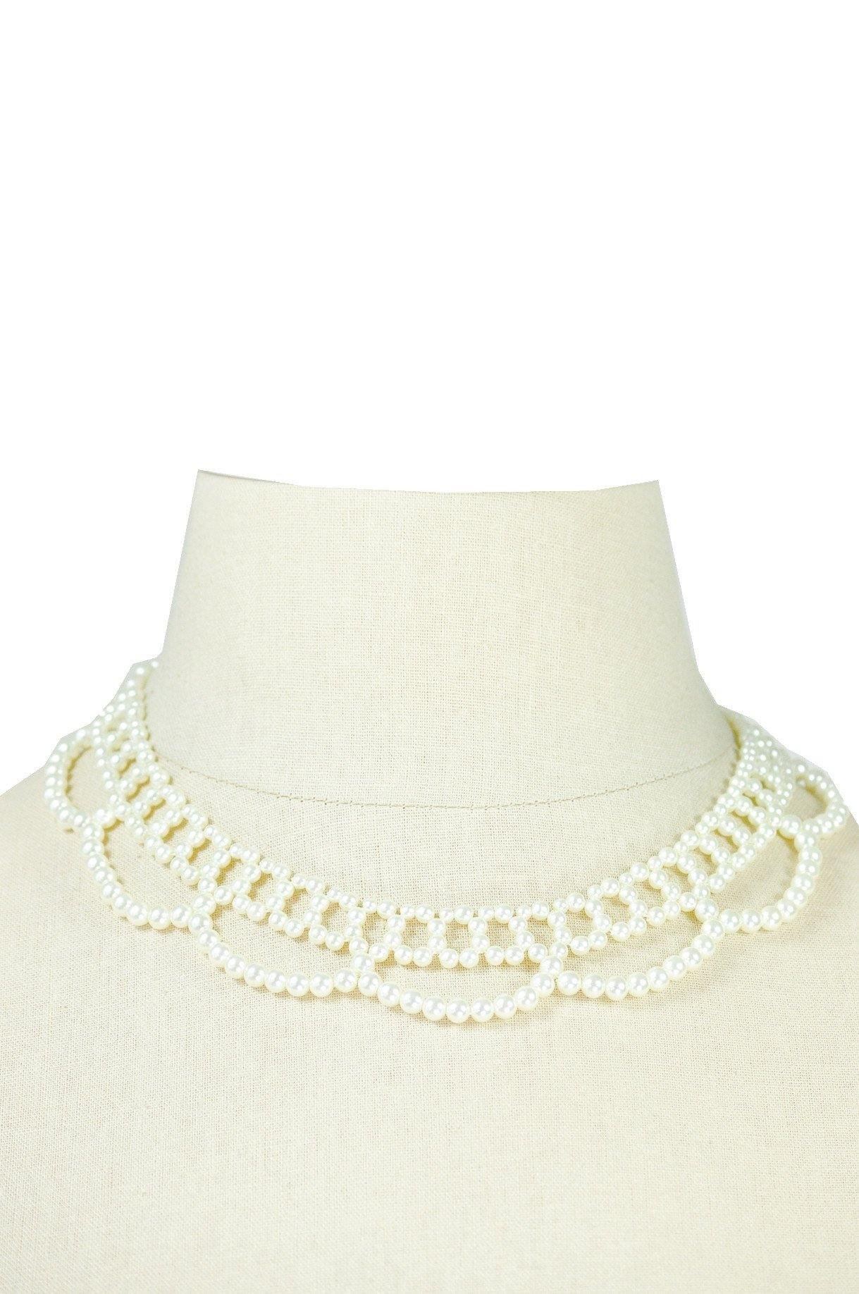 50's__Vintage__Choker Pearl Necklace