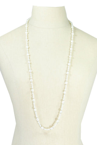 70's__Napier__Pearl Strand Necklace