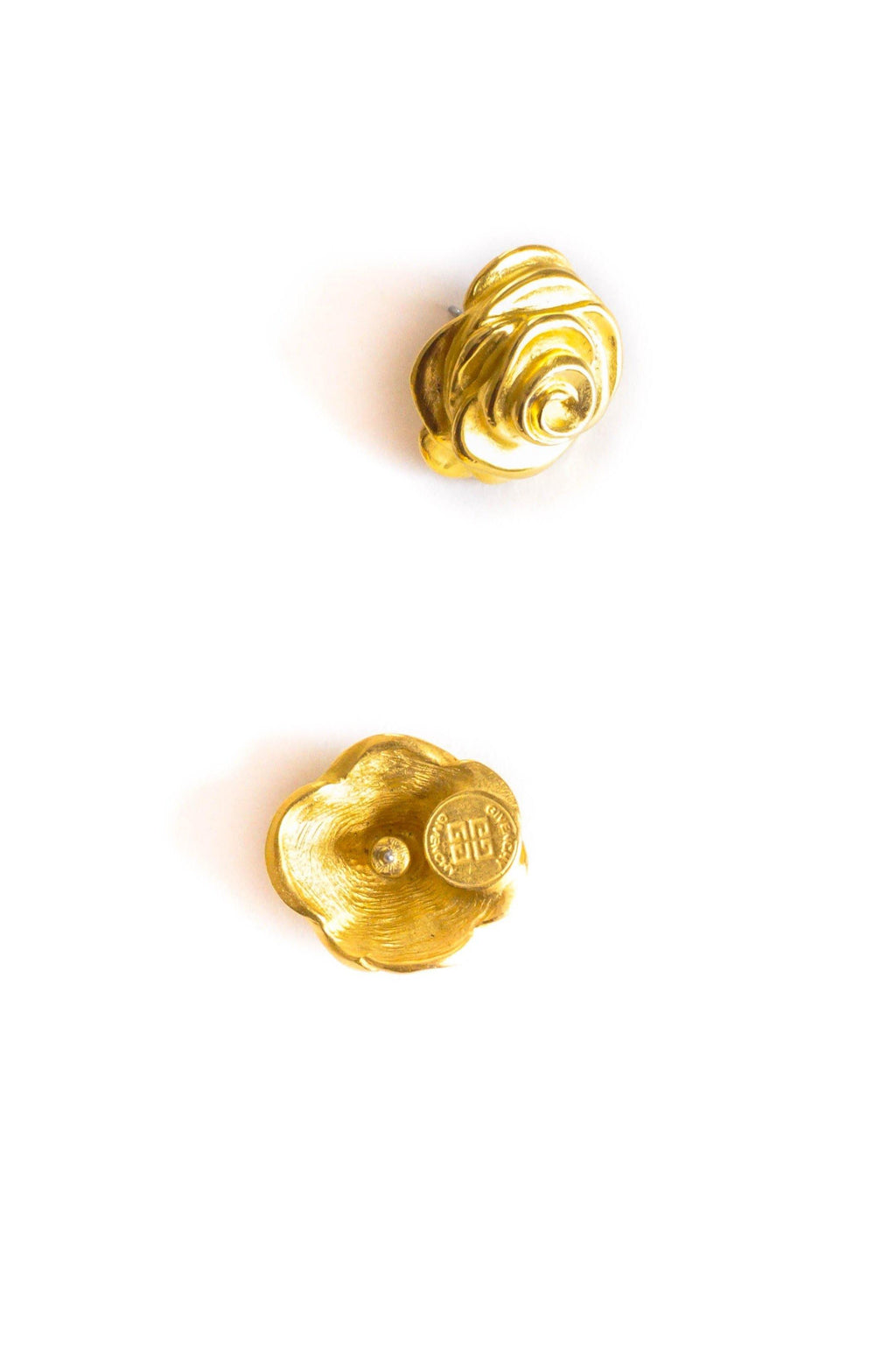 Givenchy Floral Pierced Earrings