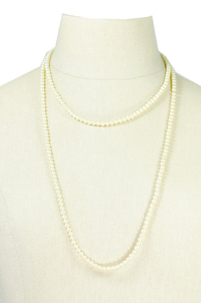 50's__Vintage__Pearl Layering Necklace