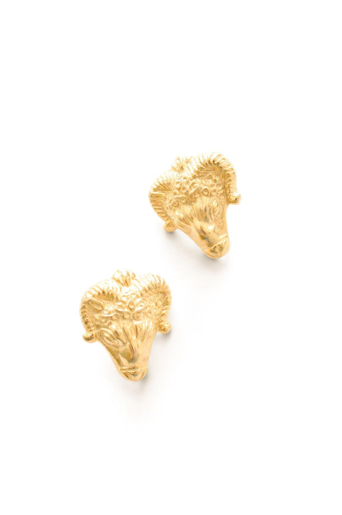Ram Pierced Earrings