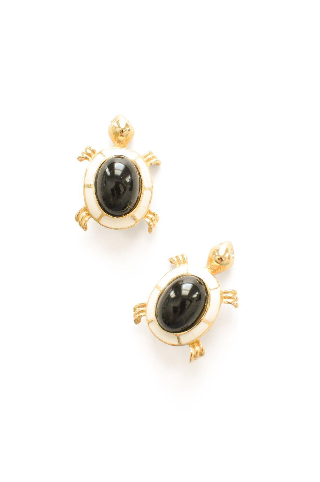 Turtle Statement Clip-on Earrings