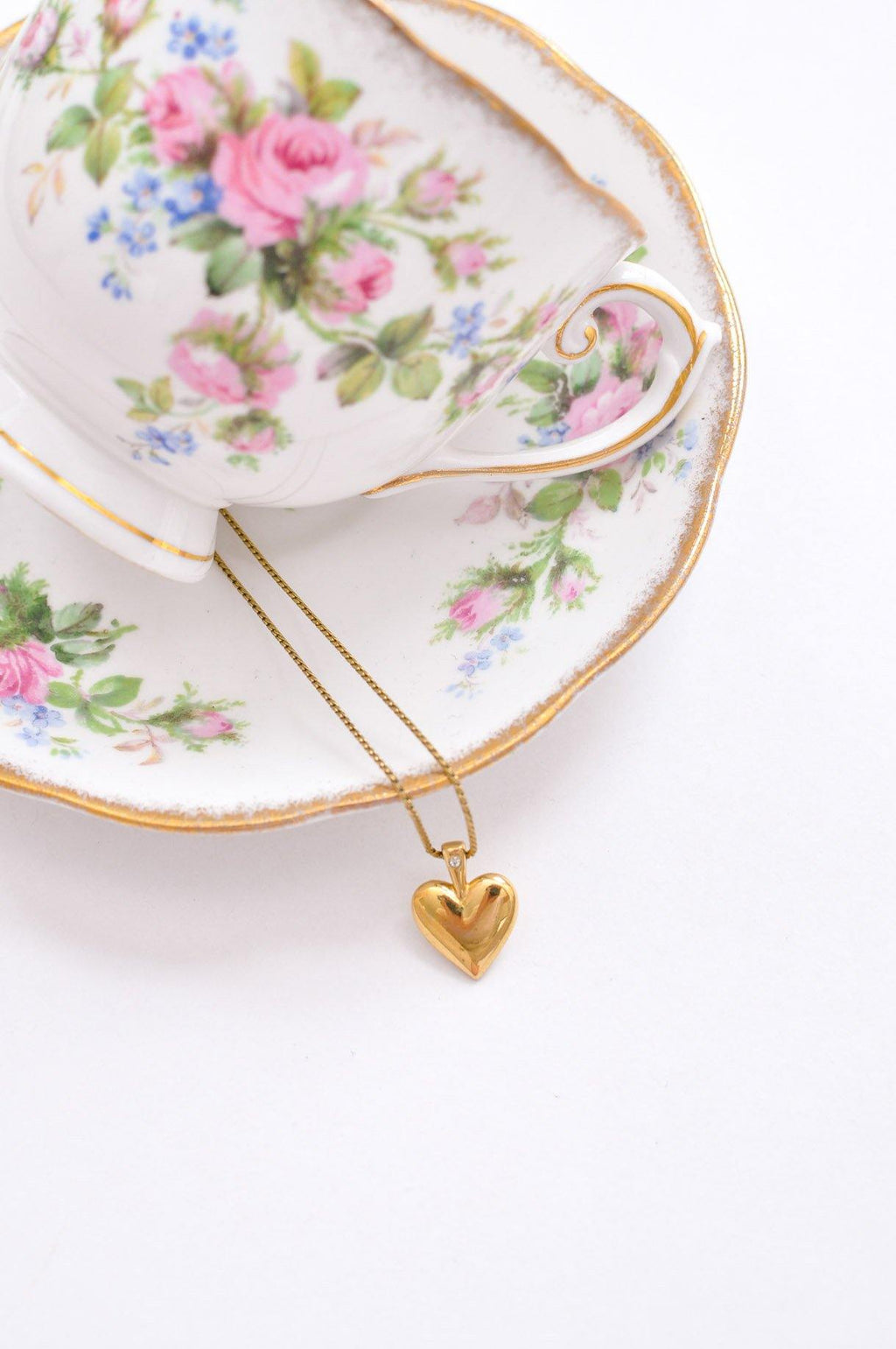Dainty Heart Pendant Necklace