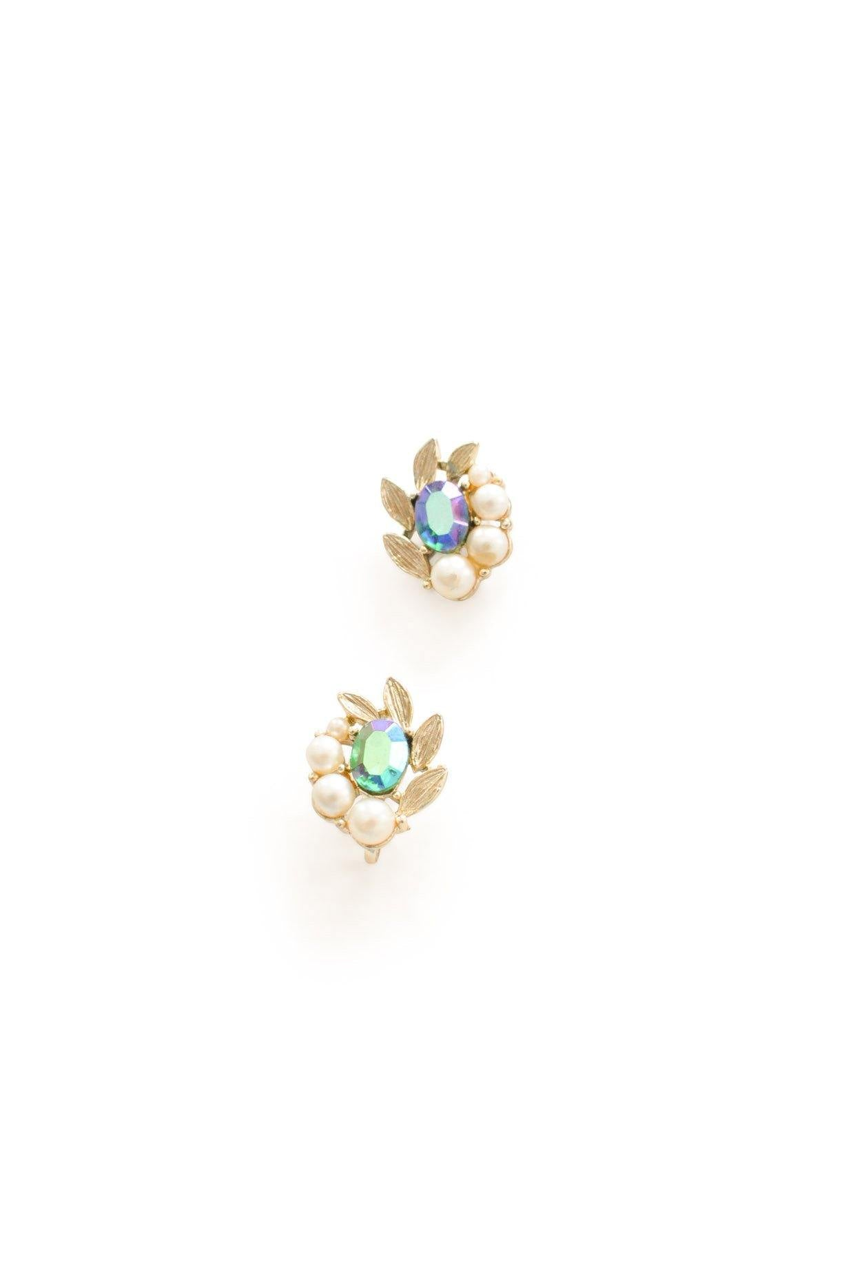Cluster Clip-on Earrings From Sweet & Spark