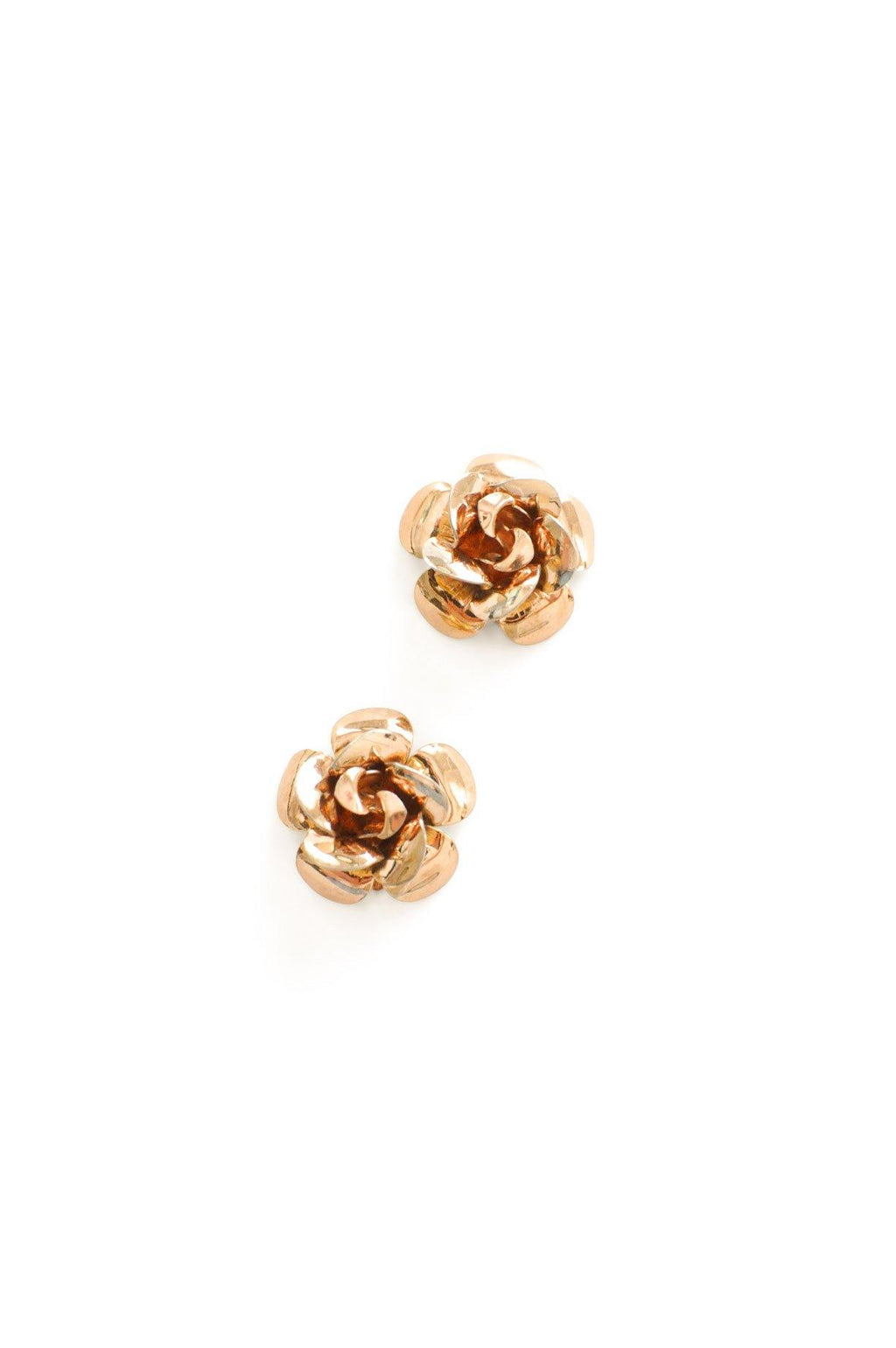 Rose Clip-on Earrings