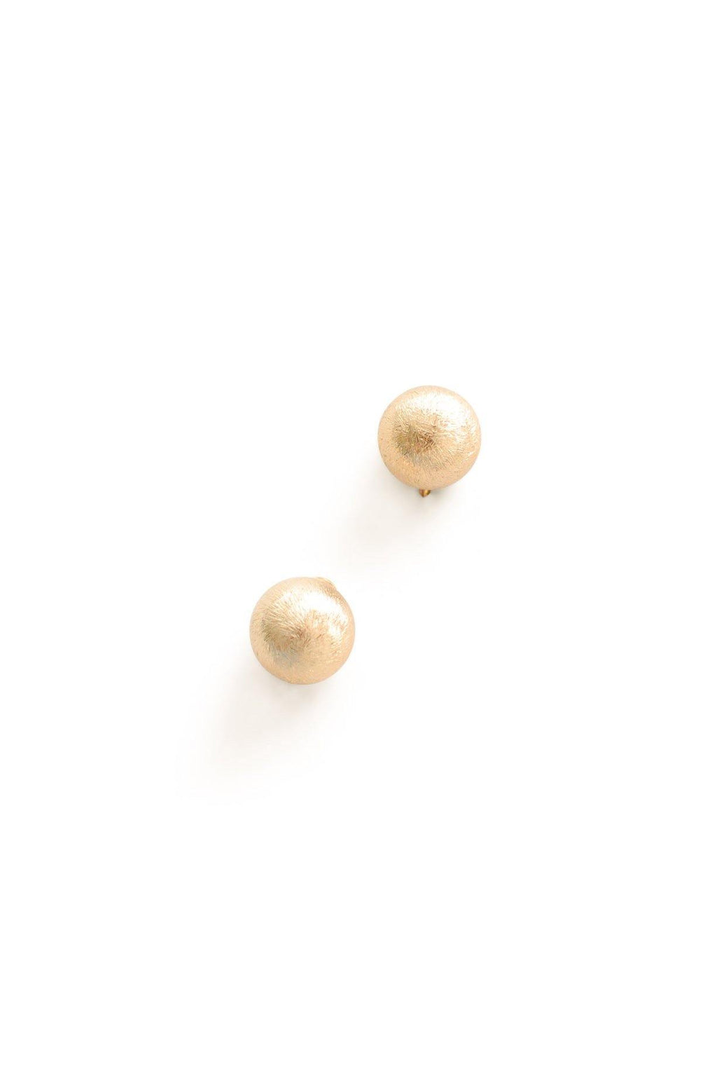 Textured Ball Clip-on Earrings