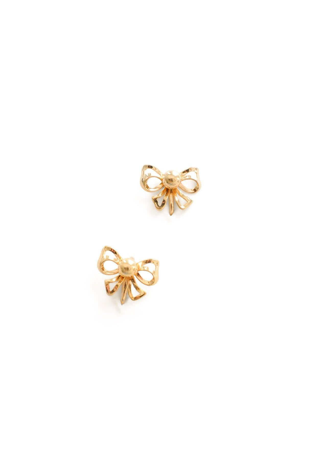 Bow Clip-on Earrings
