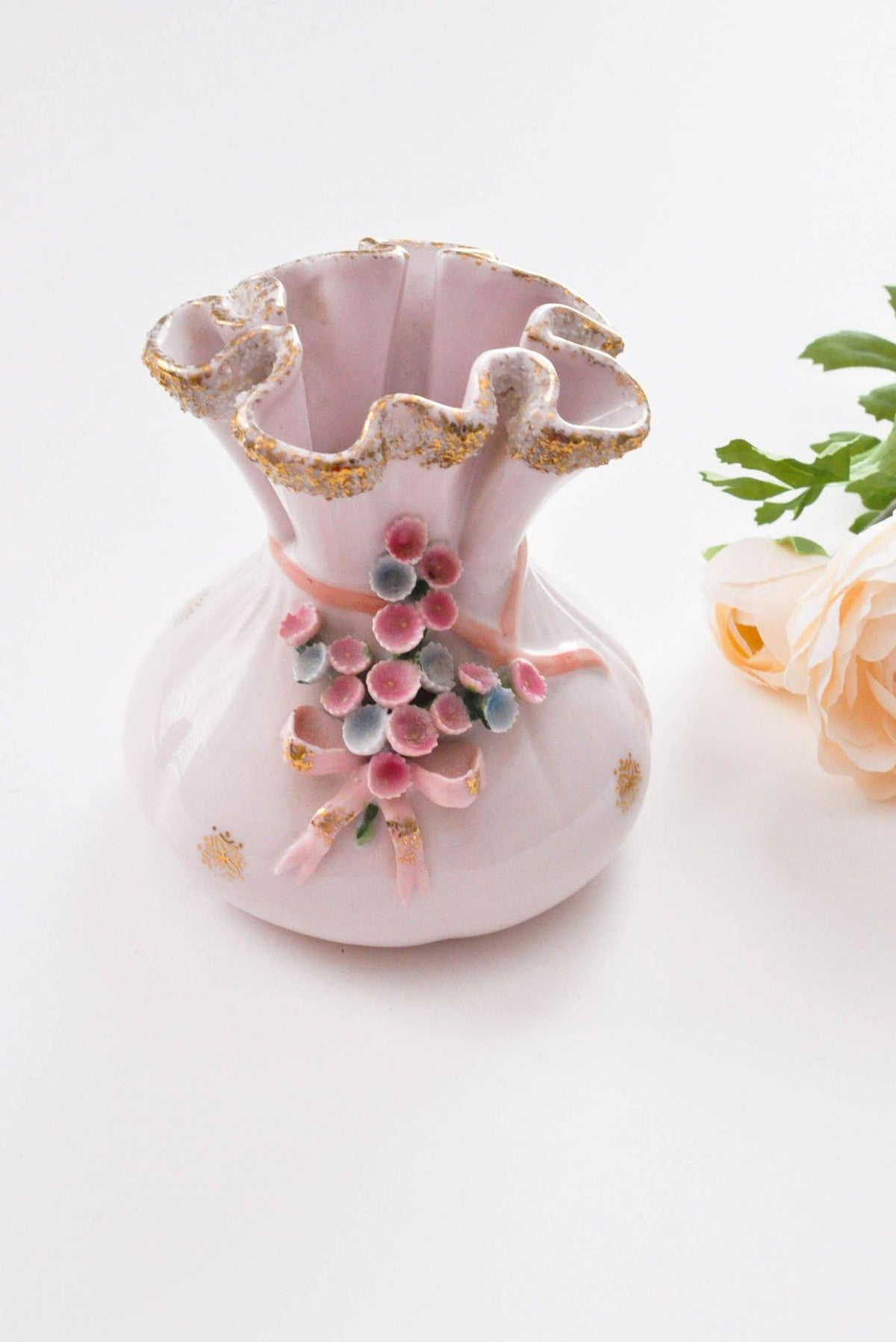 Drawstring Bucket Vase - Sweet & Spark