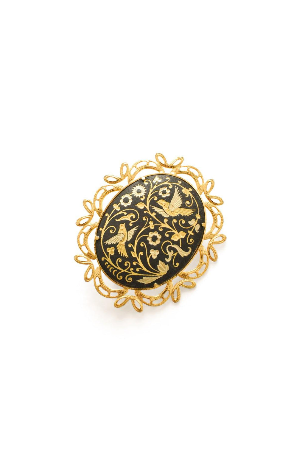 Damascene Brooch