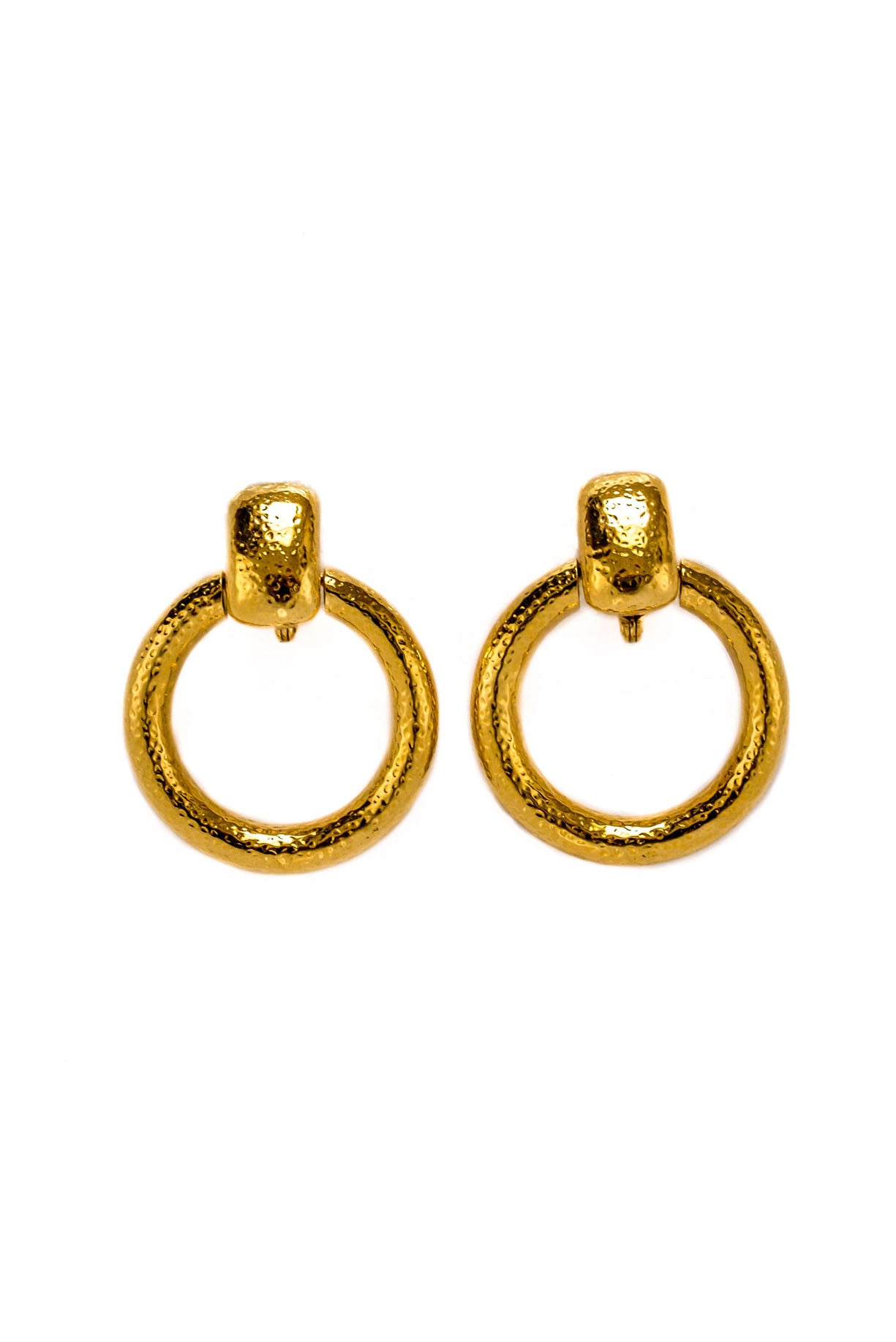 Monet Statement Hoop Earrings from Sweet & Spark.