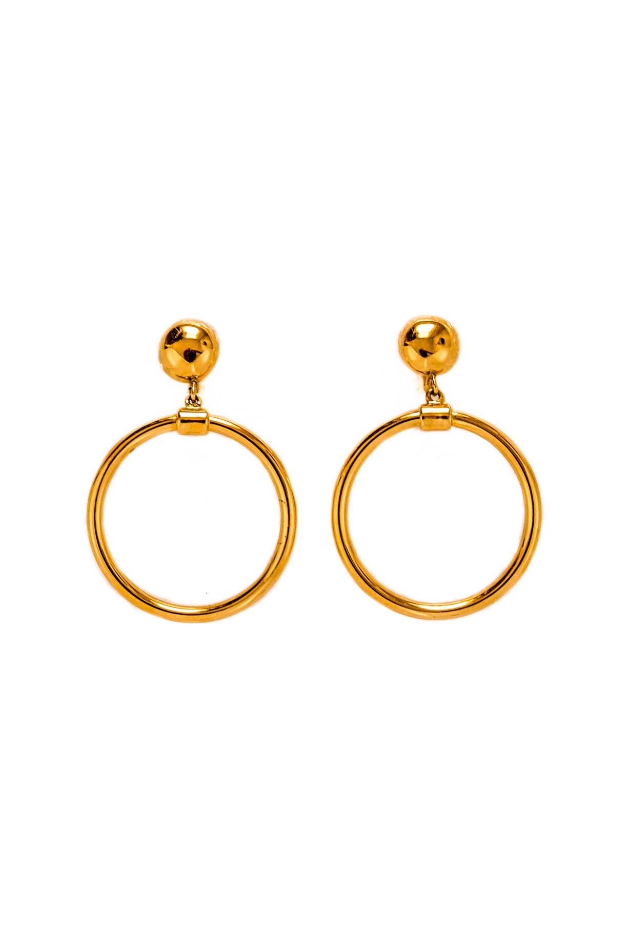 Vintage Monet Hoop Earrings from Sweet & Spark.