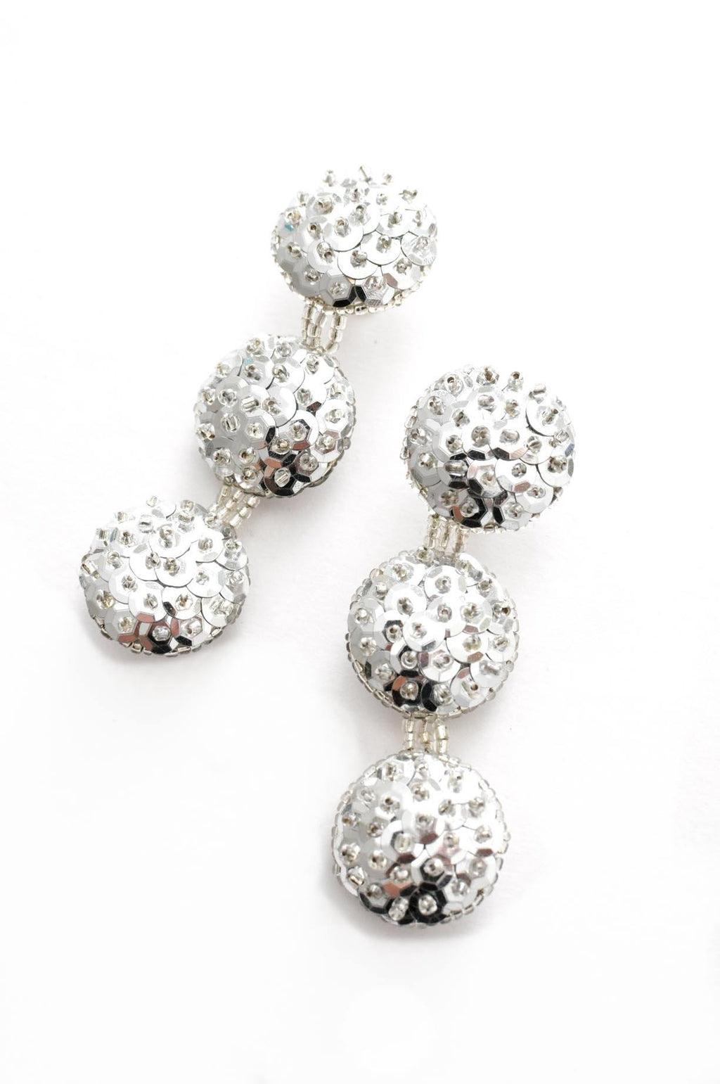 Sequin Bon Bon Pierced Earrings