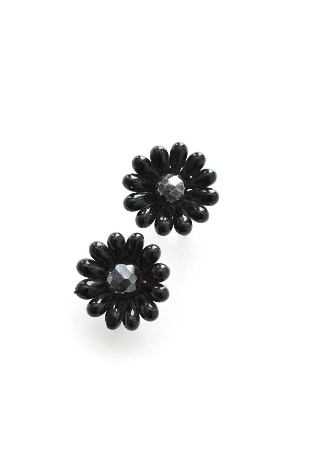 Beaded Burst Clip-on Earrings