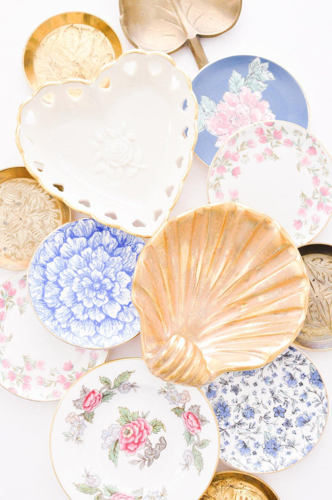 Gold Shell Jewelry Dish