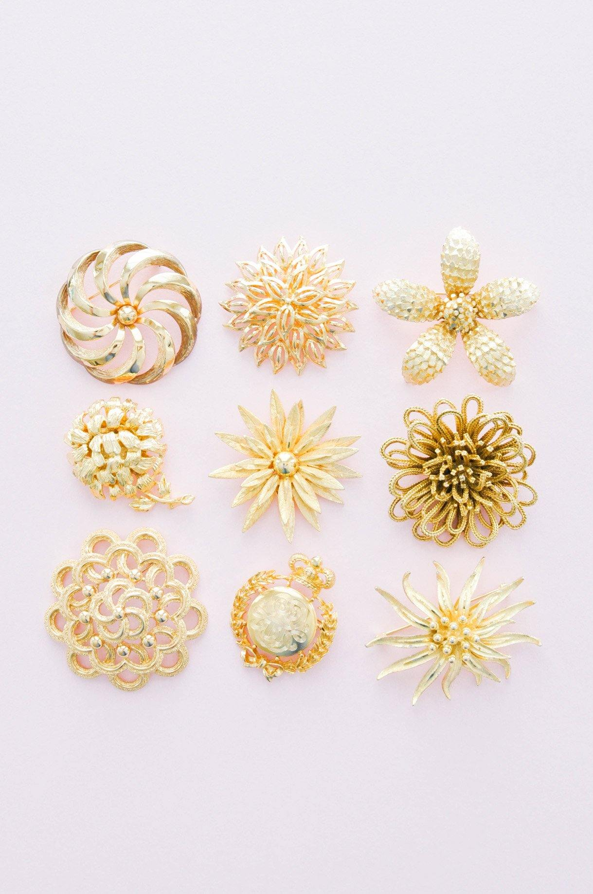 Floral Statement Brooch