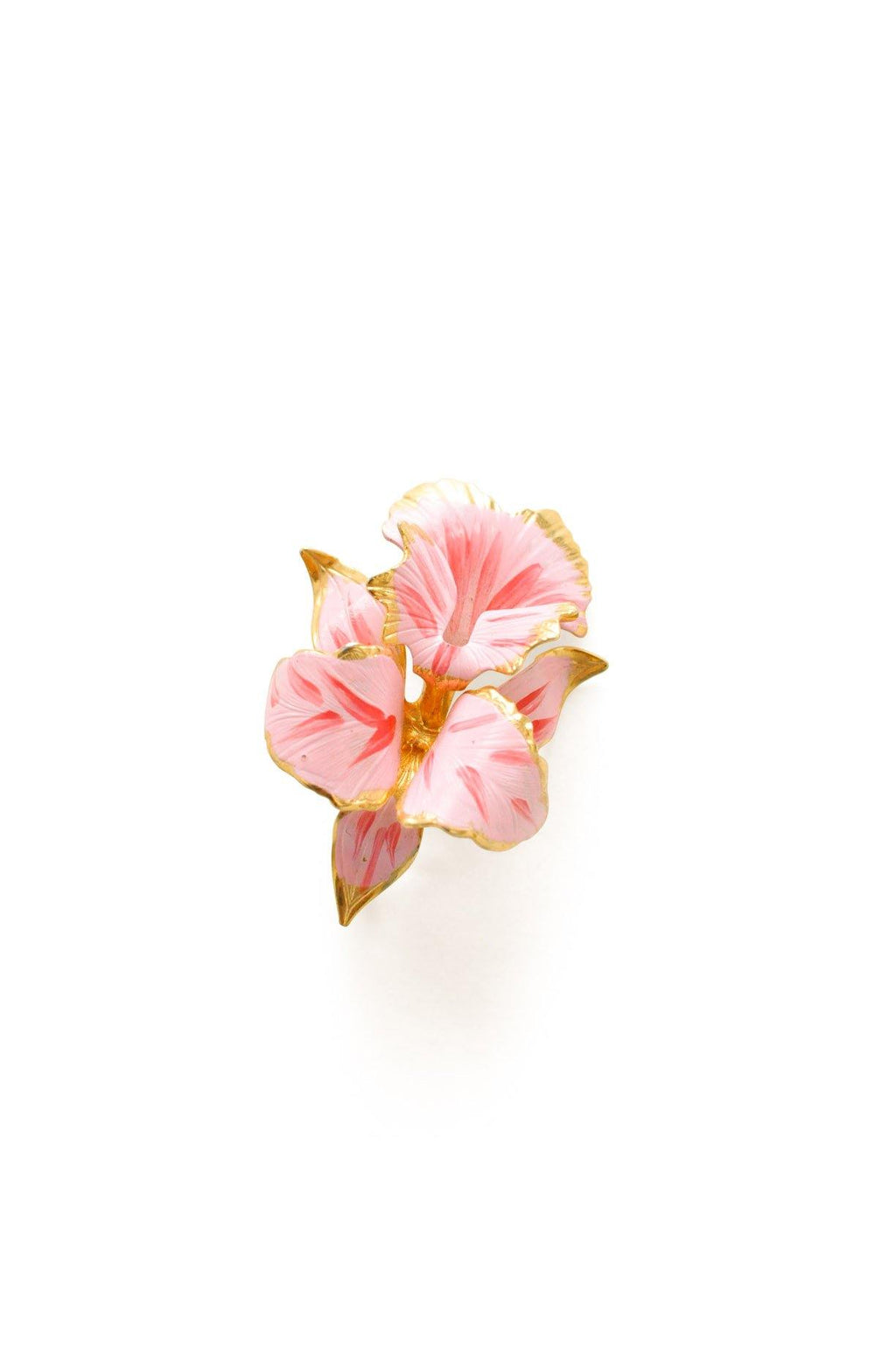 Pink Hibiscus Brooch