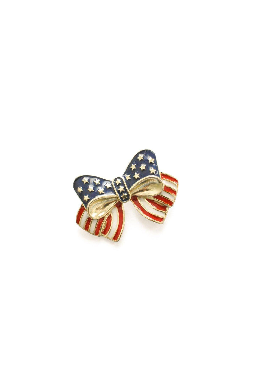 Flag Bow Brooch