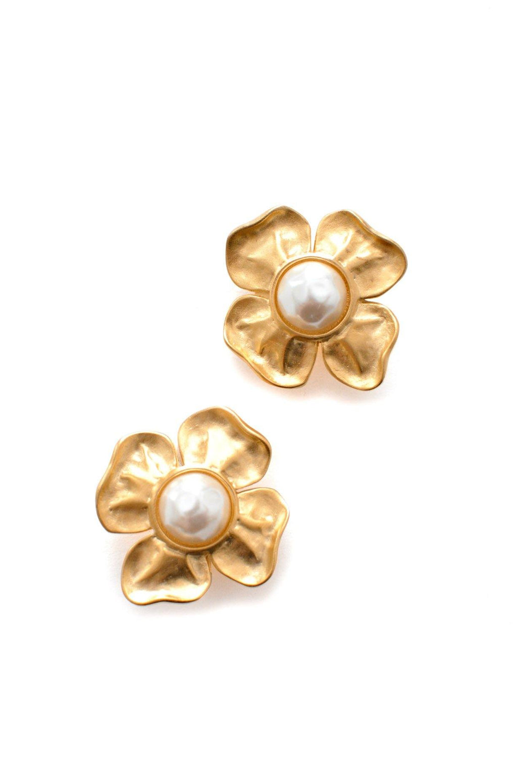Givenchy Pearl Statement Clip-on Earrings