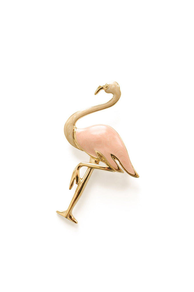 Trifari Swan Brooch