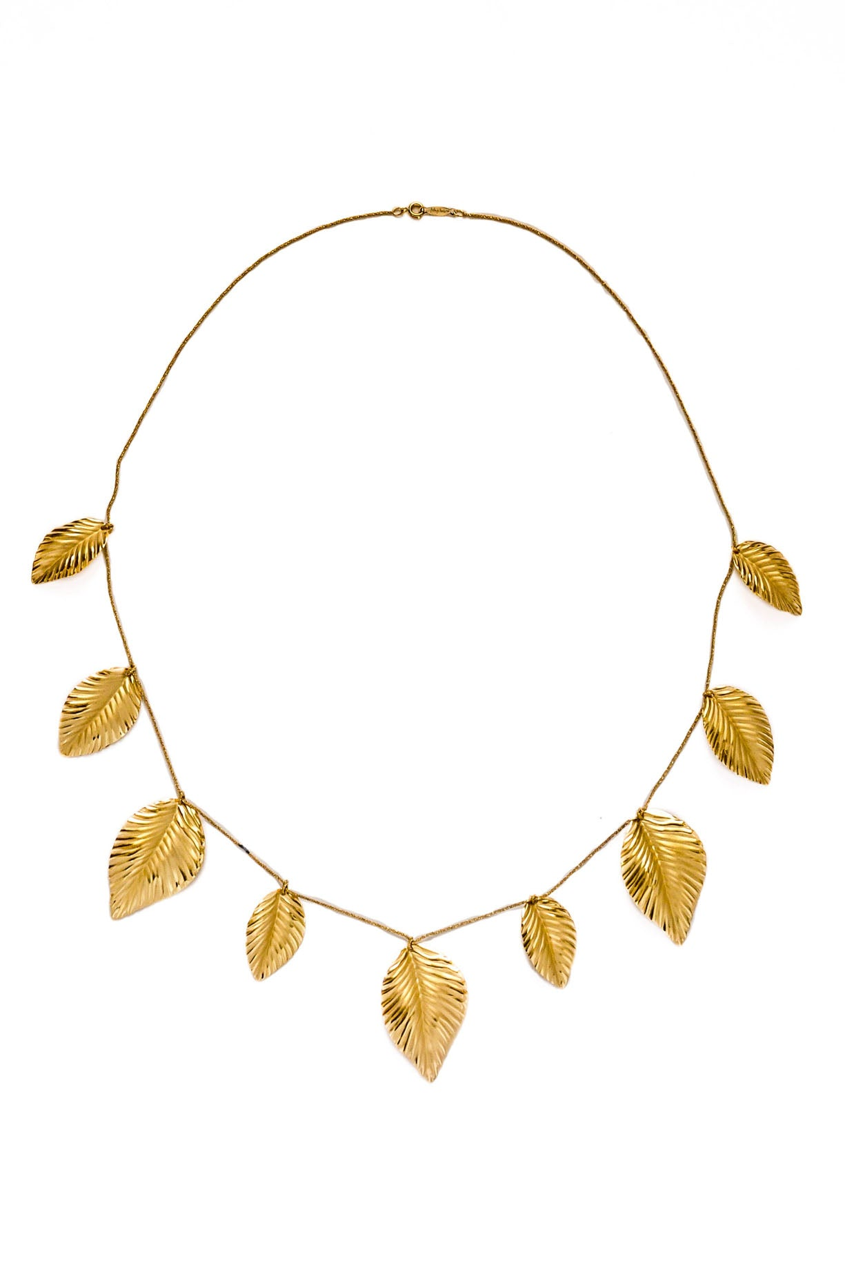 Vintage Statement Leaves Necklace from Sweet and Spark