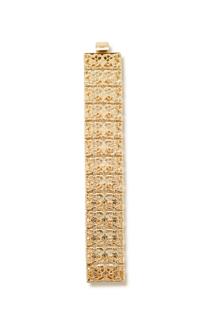 Sarah Coventry Gold Filigree Bracelet