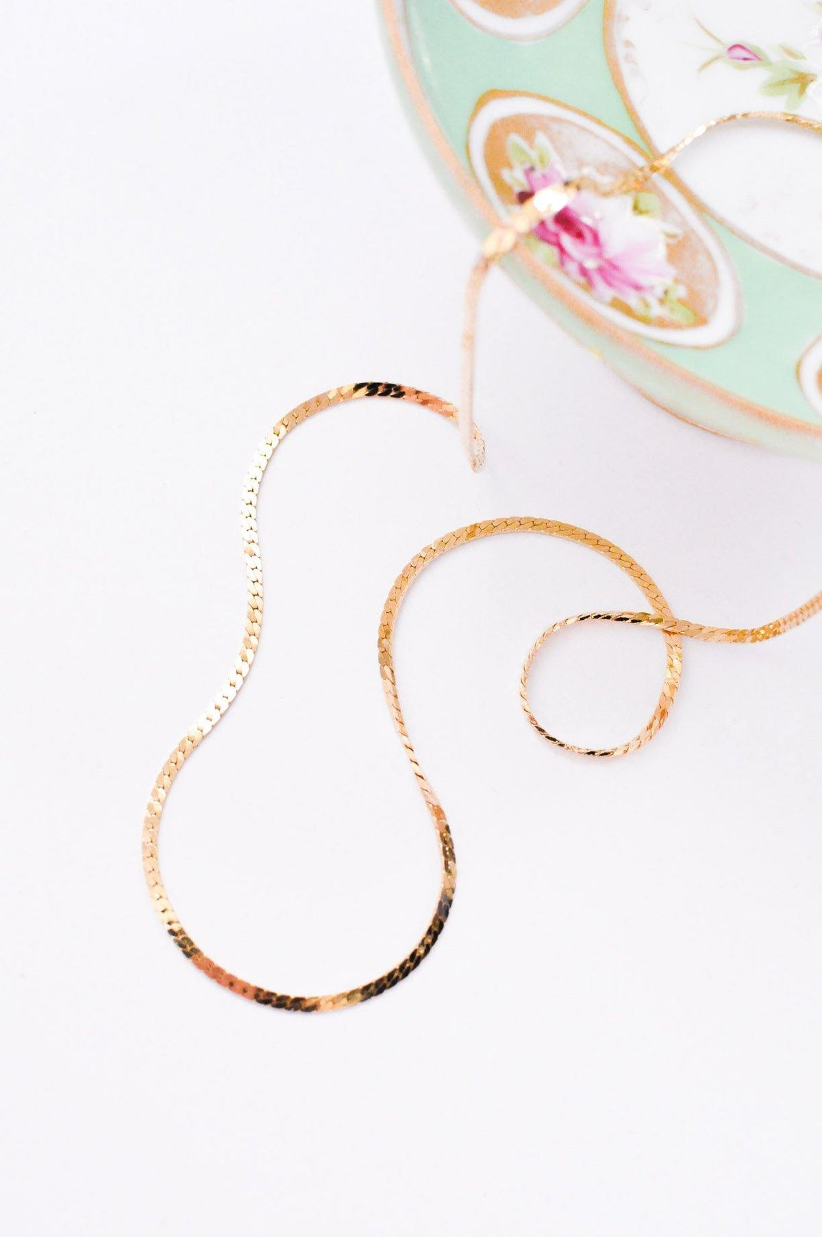 Flat Chain Necklace - Sweet & Spark