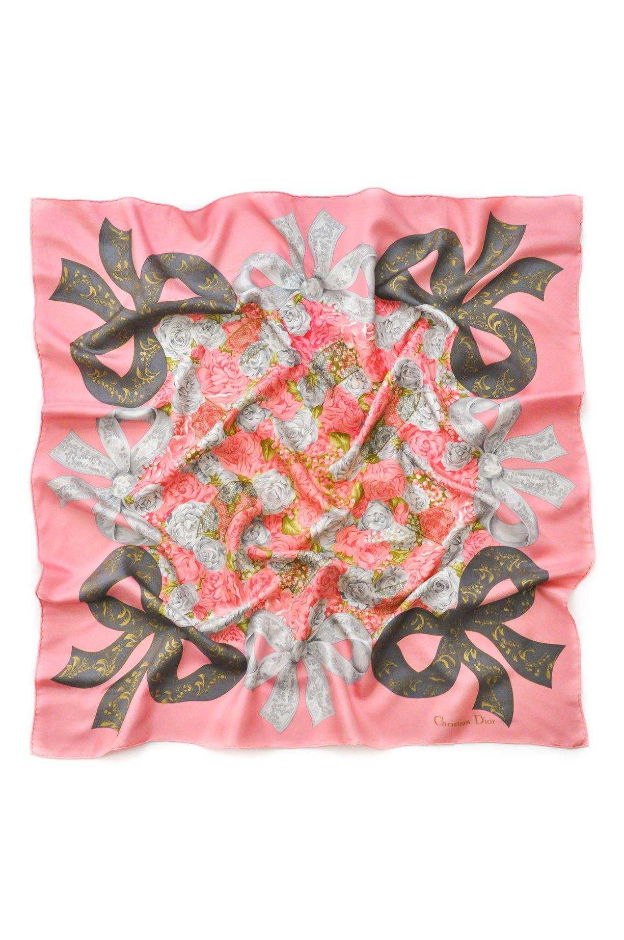 Vintage Christian Dior Lace Bow Scarf from Sweet & Spark.