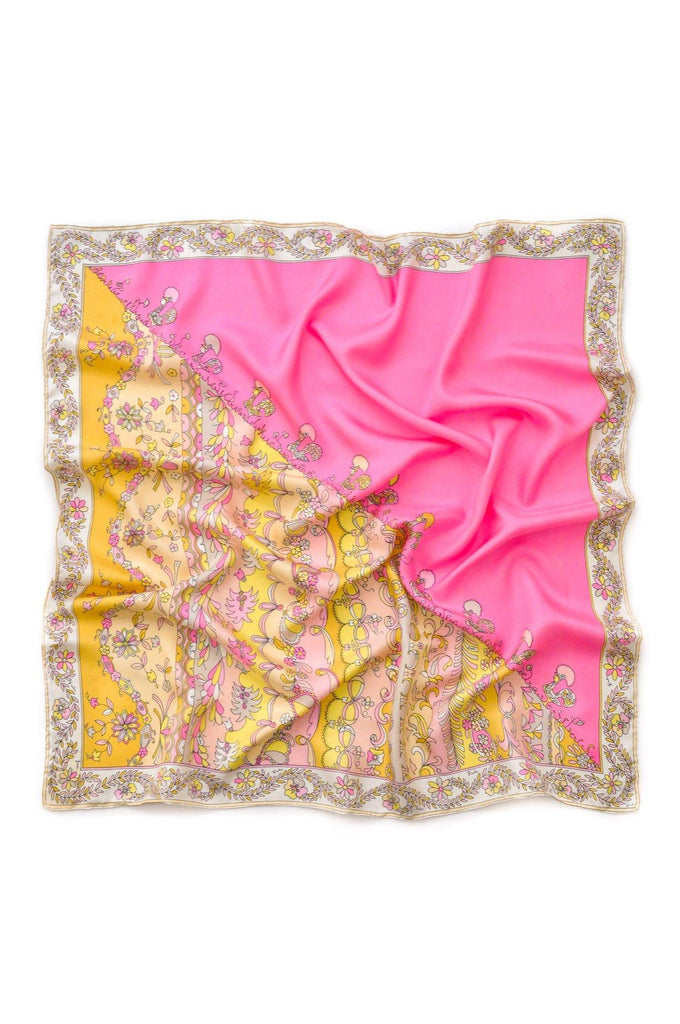 Pucci Paisley Square Scarf