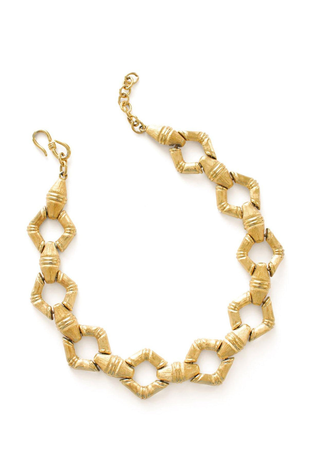 Statement Bamboo Necklace