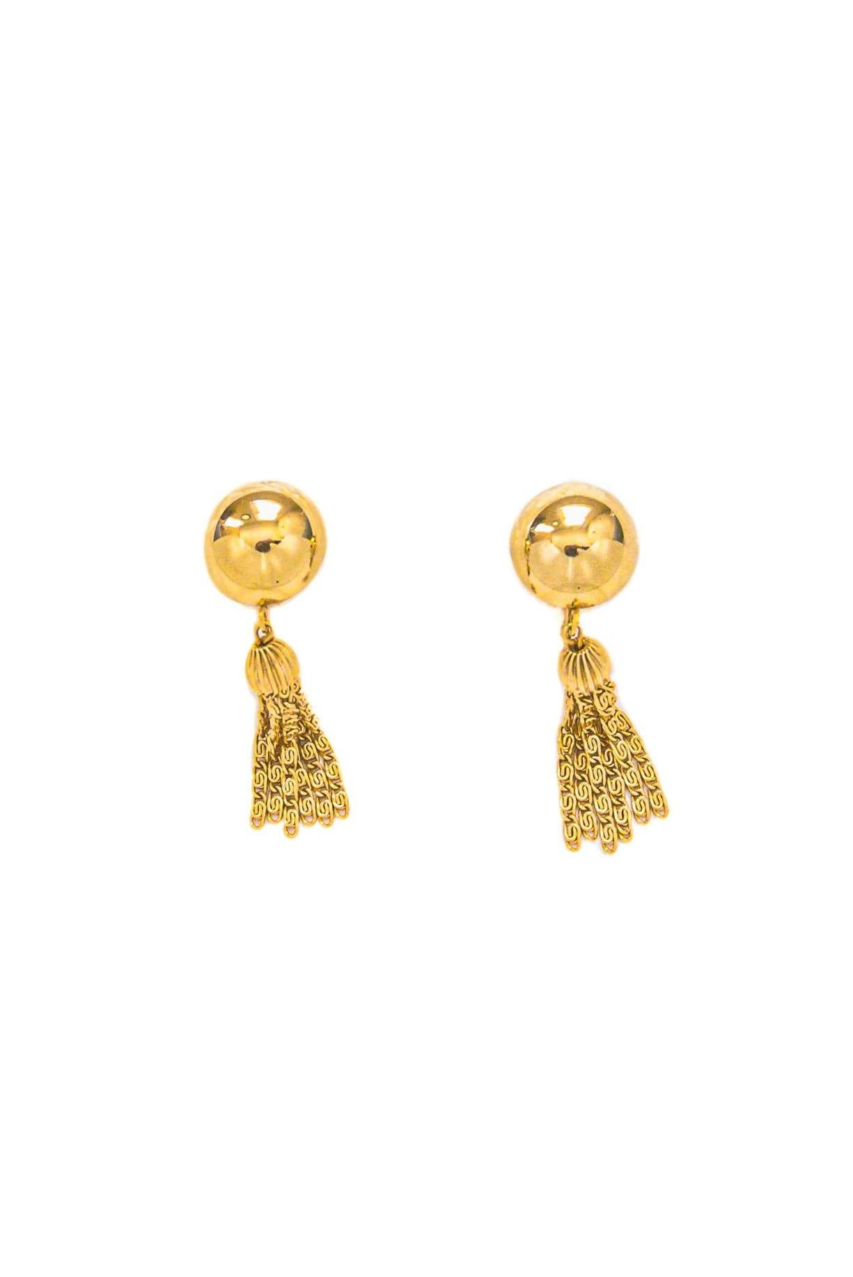 Vintage tassel earrings from Sweet & Spark.