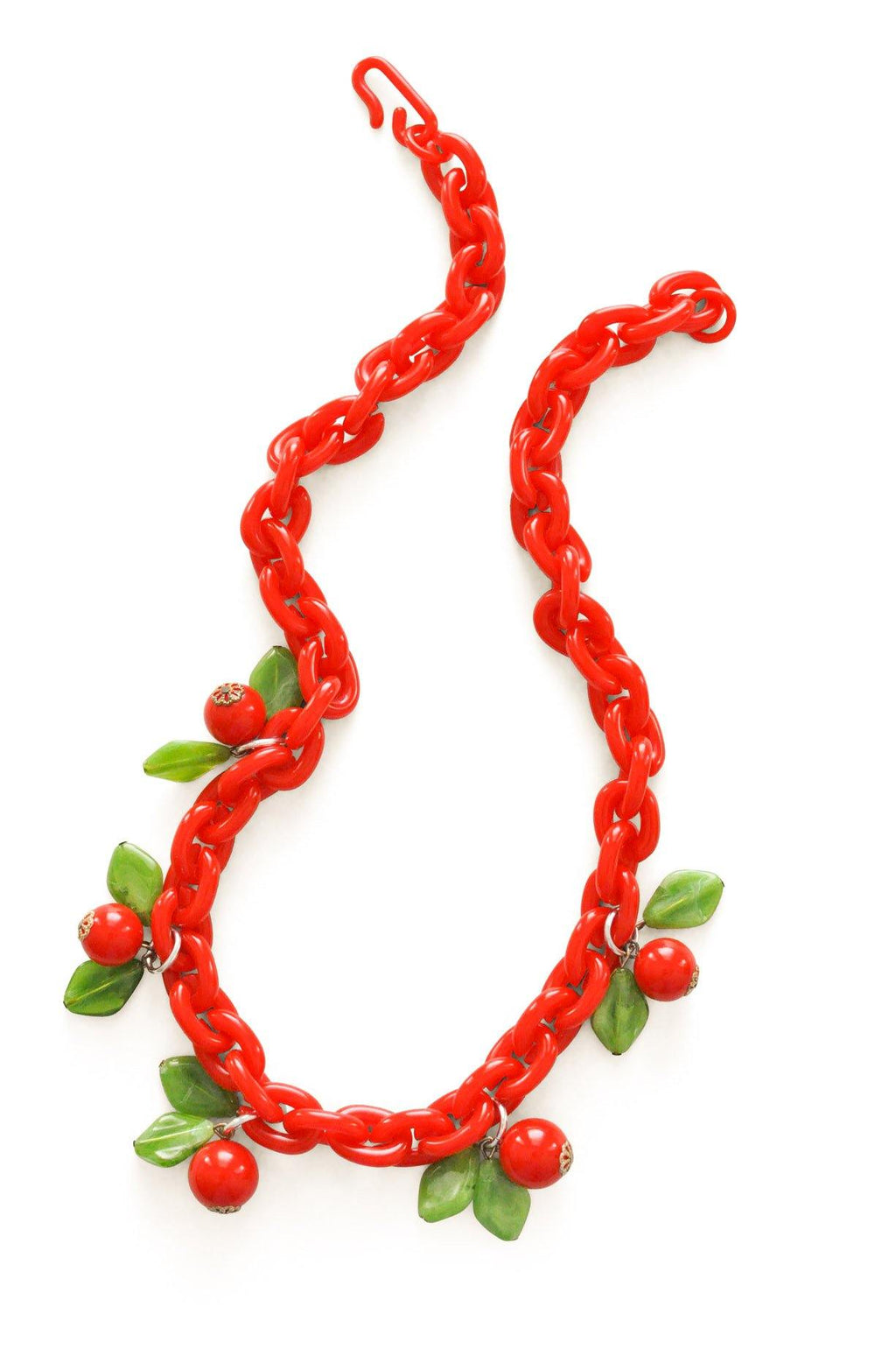 Cherry Open Link Necklace
