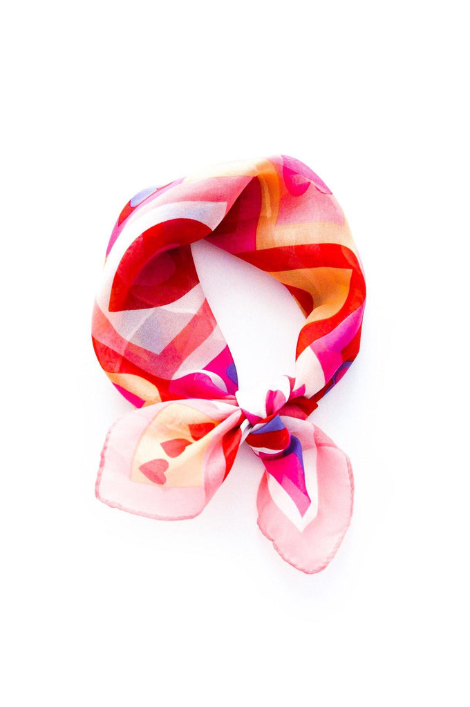 Hearts Scarf