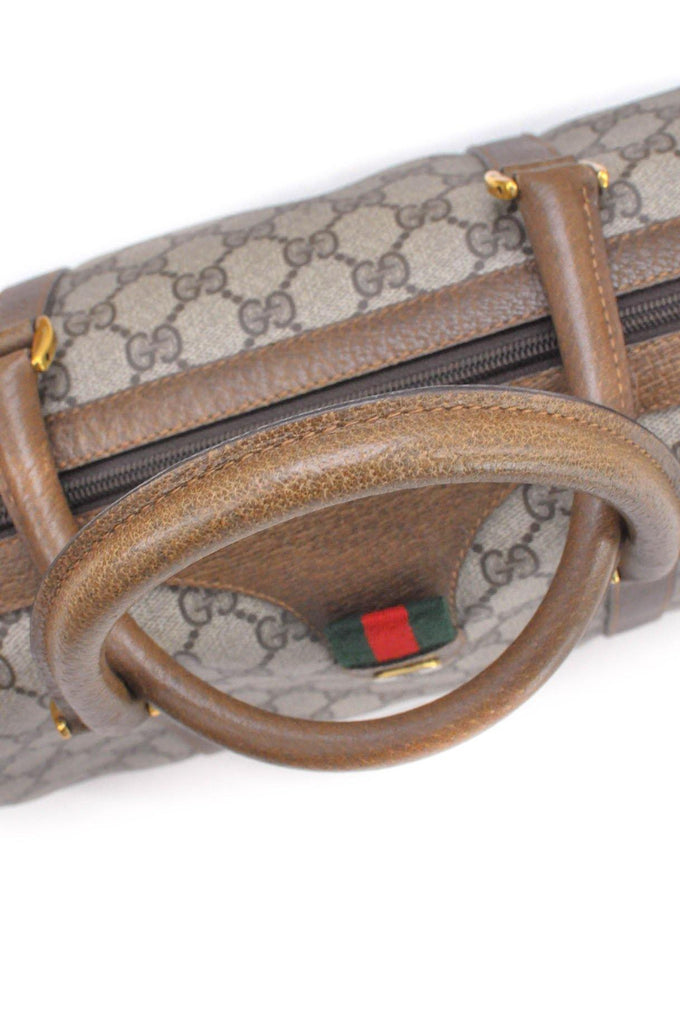 Gucci Boston Monogram Bag