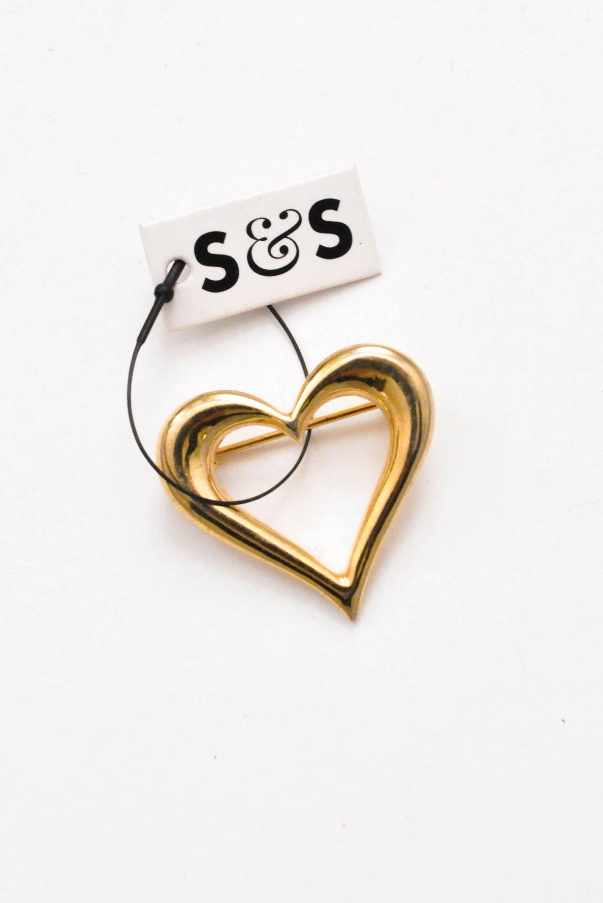 Mini Heart Brooch - Sweet & Spark