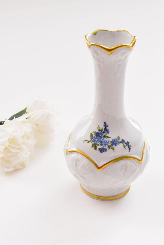 Floral Detailed Stems Vase