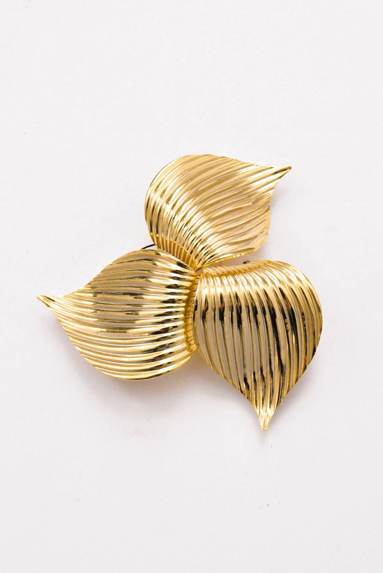 Statement Swirl Brooch - Sweet & Spark