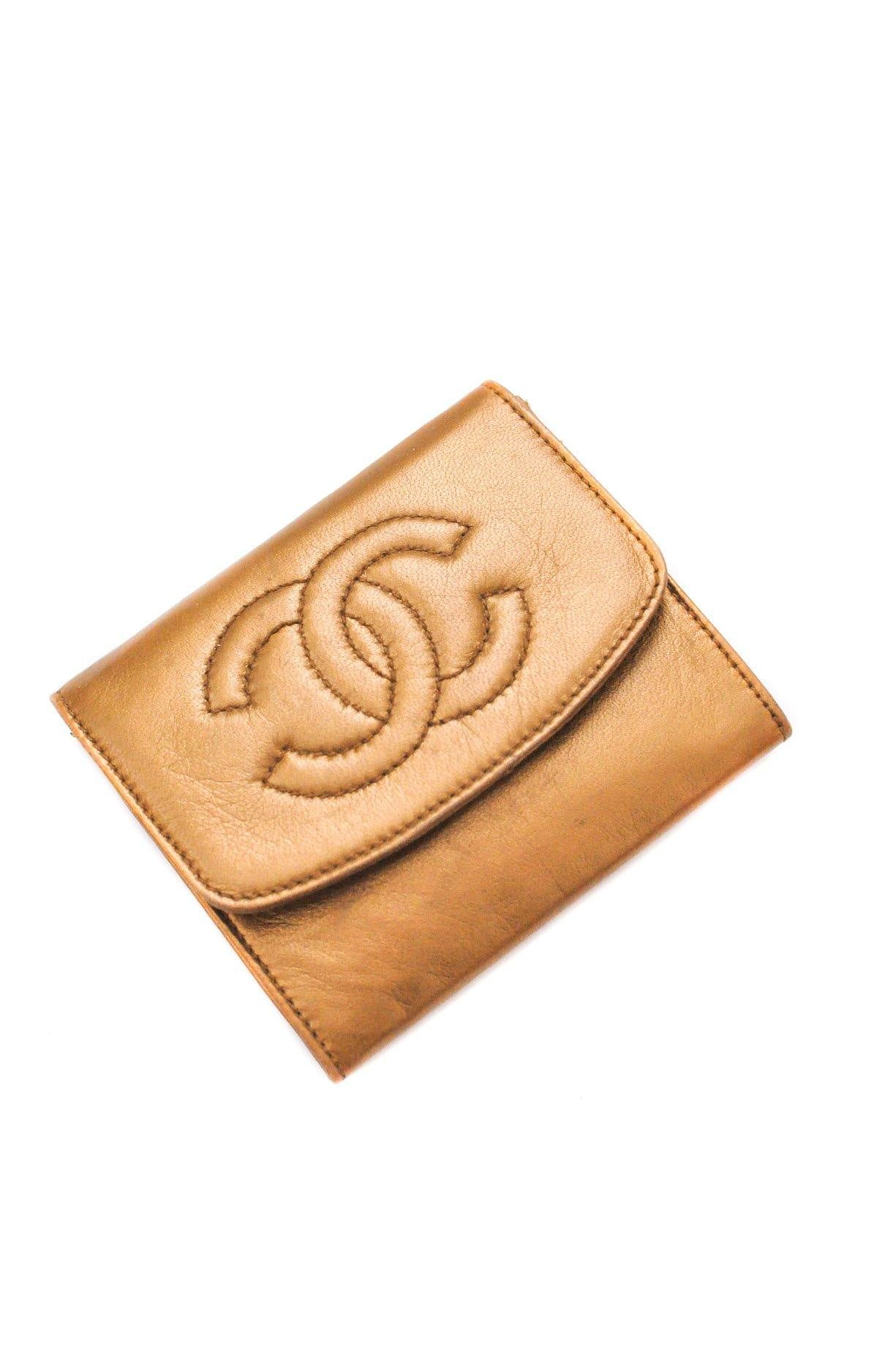Chanel Gold Coin & Card Pouch