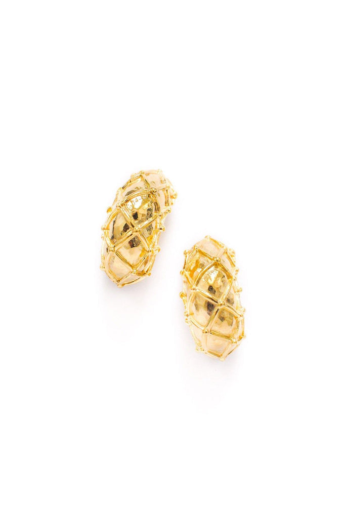 Givenchy Chunky Hoop Clip-on Earrings
