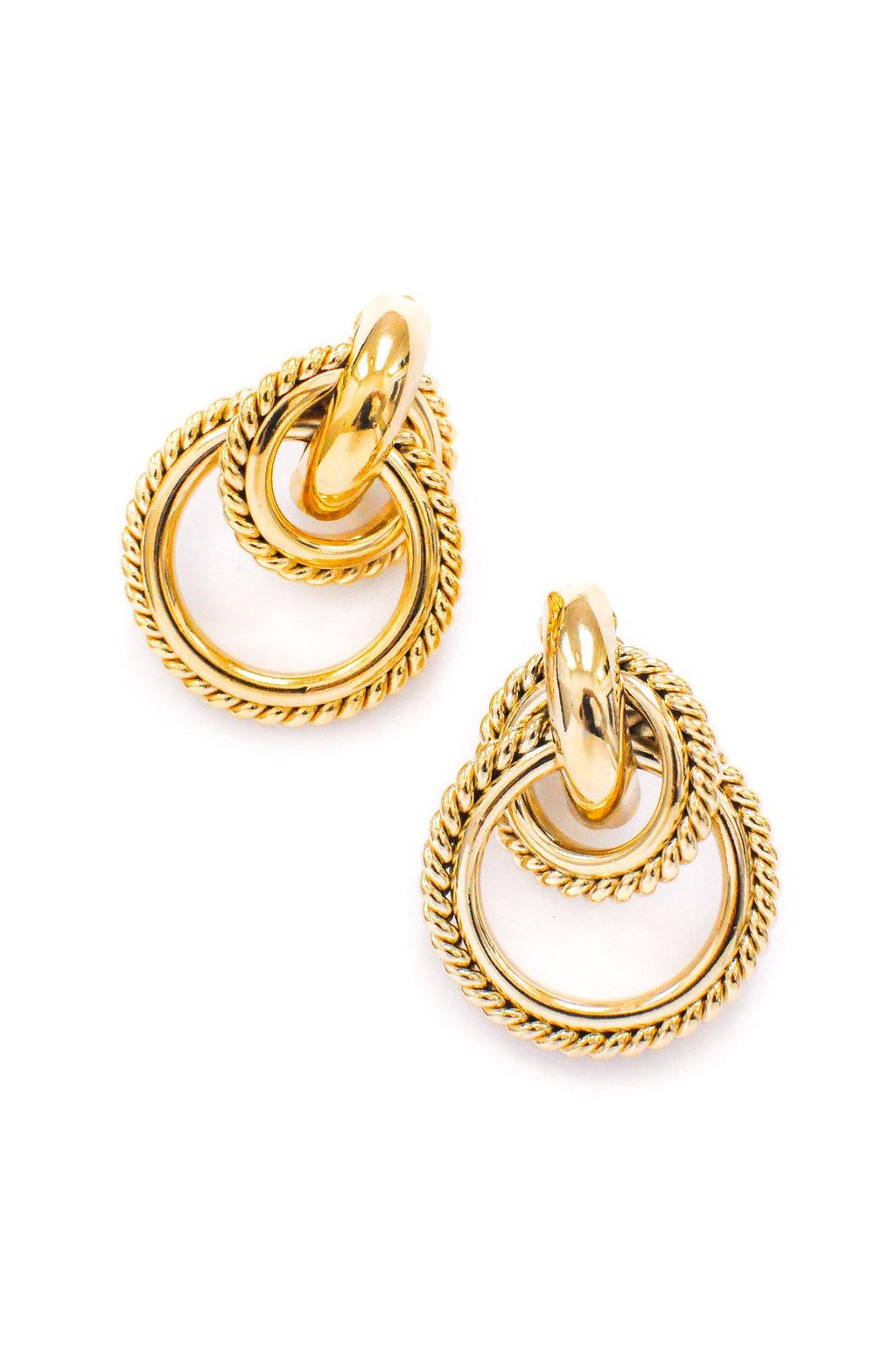 Givenchy Statement Hoop Clip-on Earrings