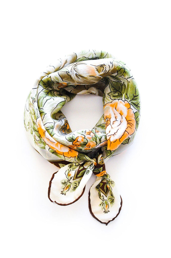 Earthy Florals Scarf
