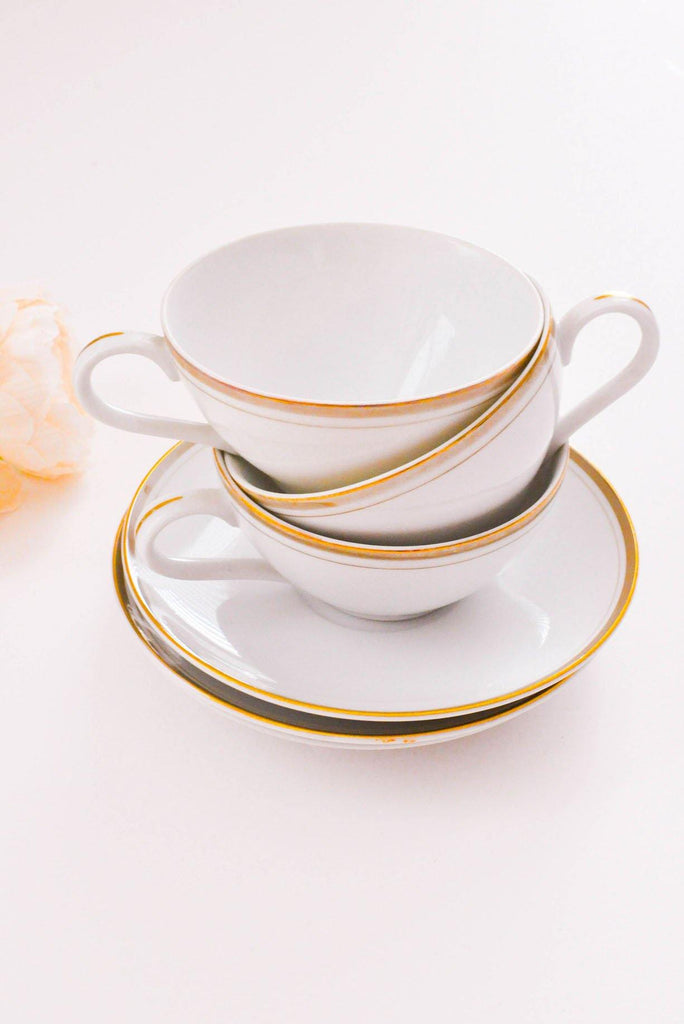 3 Piece Teacup Set