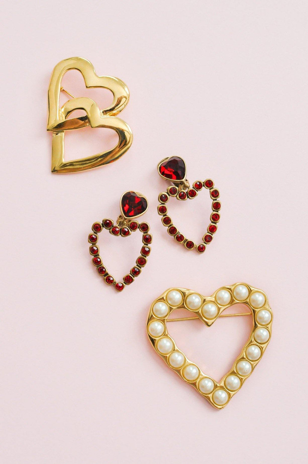 St. John Heart Brooch