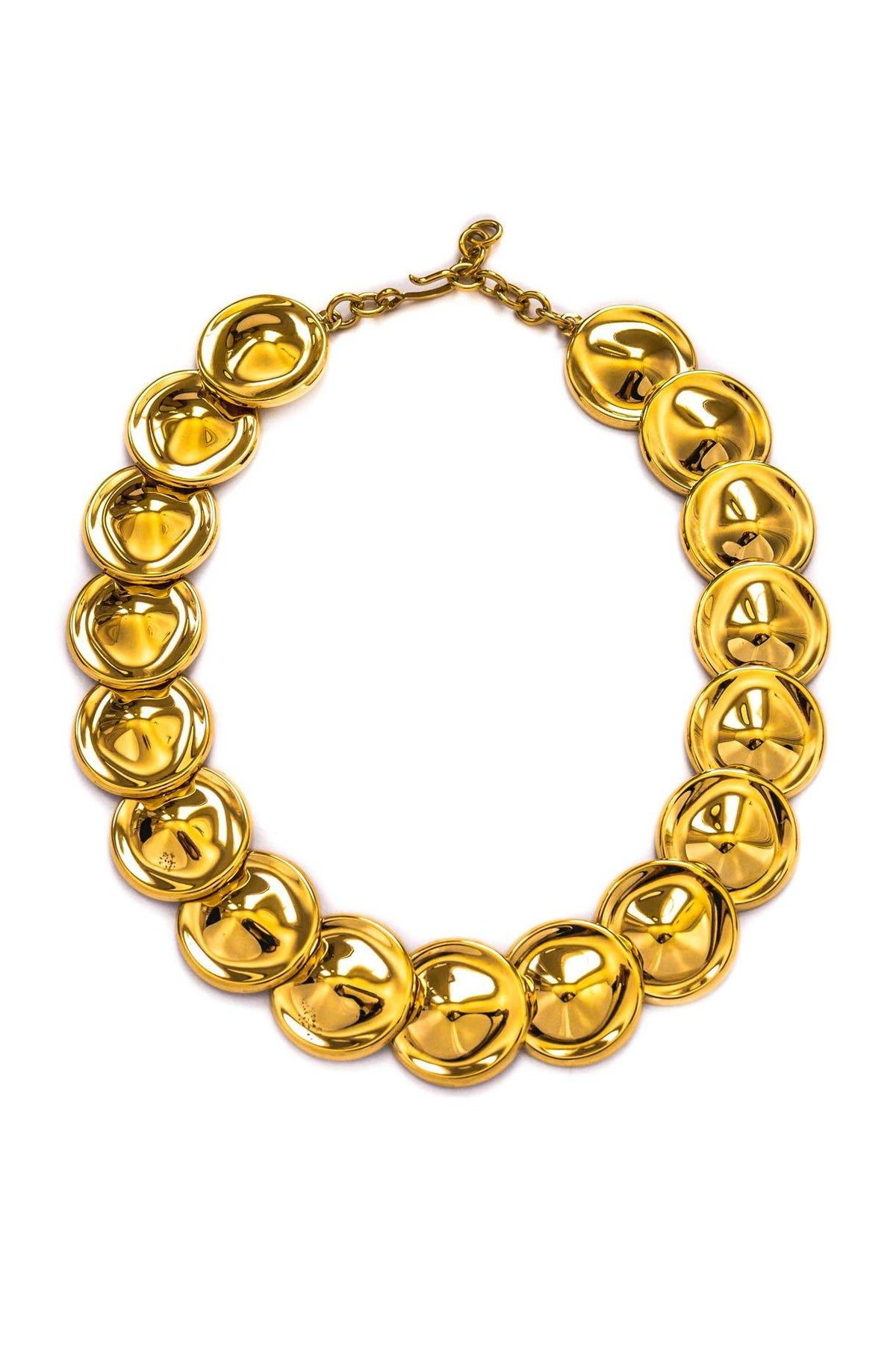 Vintage Jumbo Discs Necklace from Sweet and Sparj