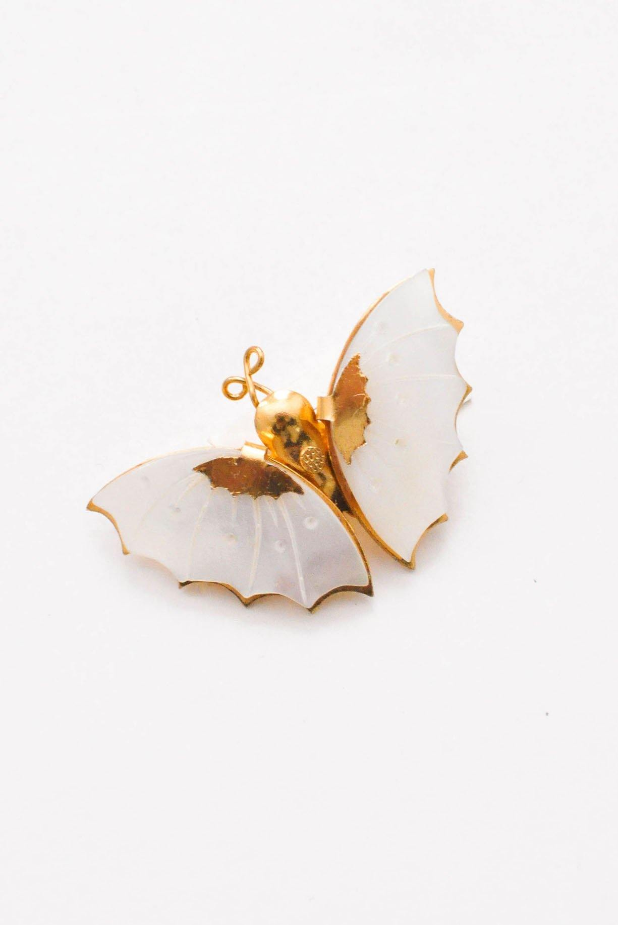 Mini butterfly brooch from Sweet & Spark.