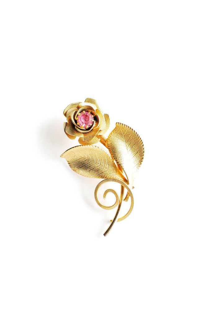 Floral Stem Brooch