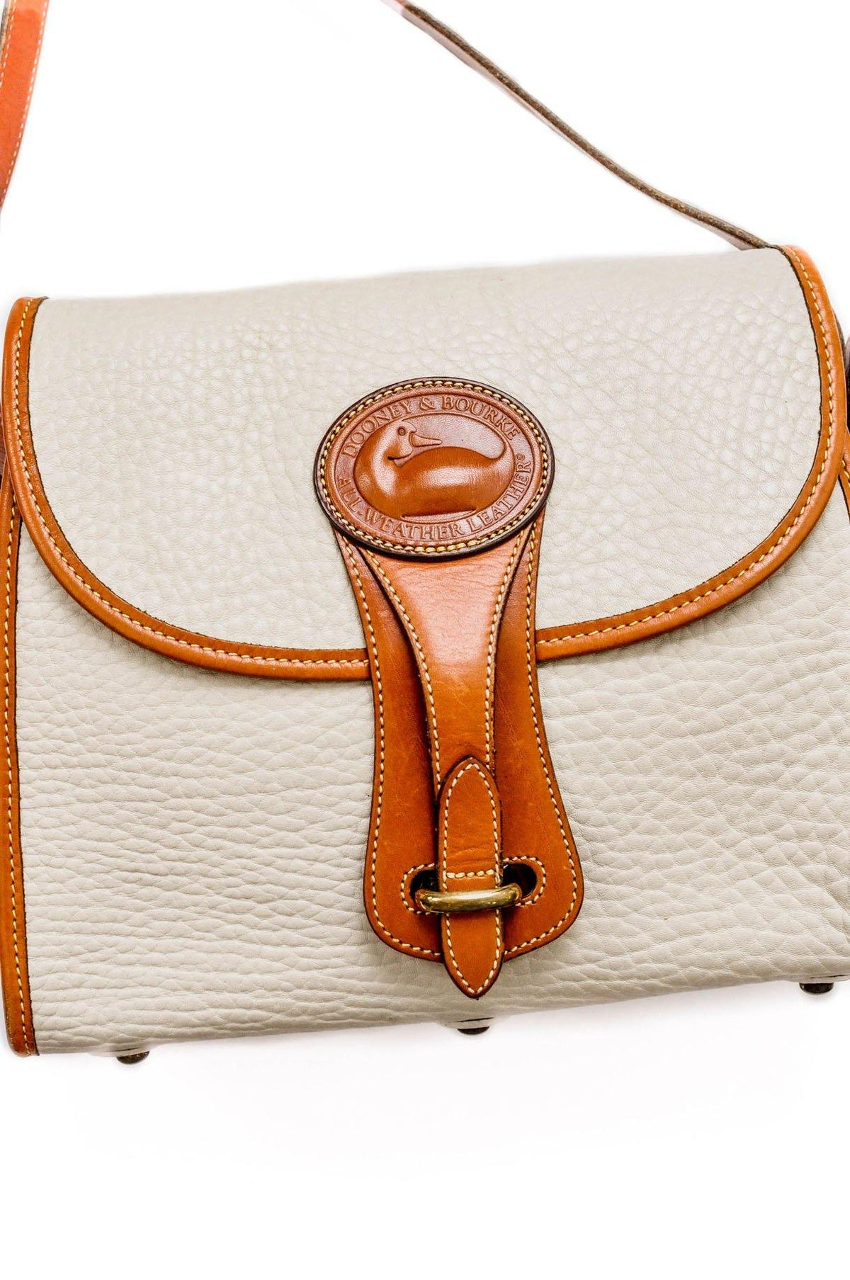 Vintage Dooney & Bourke Leather Crossbody Bag from Sweet and Spark