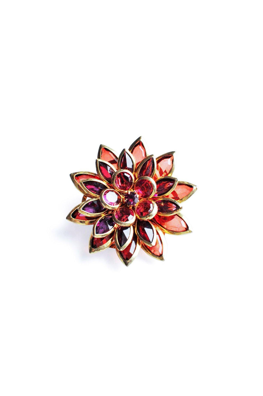 Purple Burst Brooch
