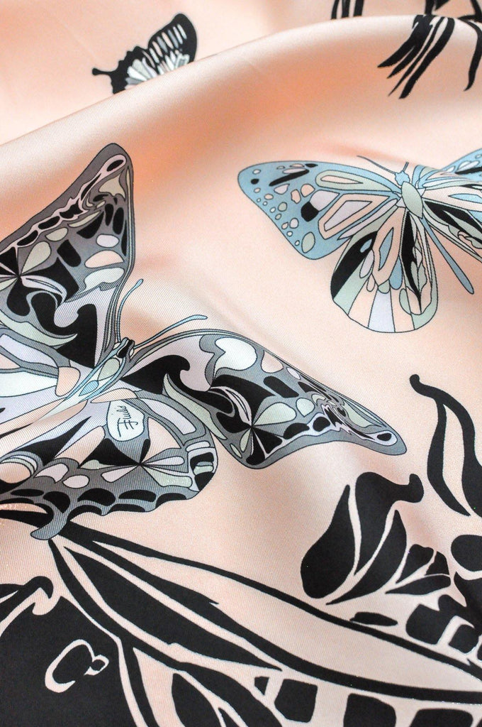 Pucci Butterfly Square Scarf