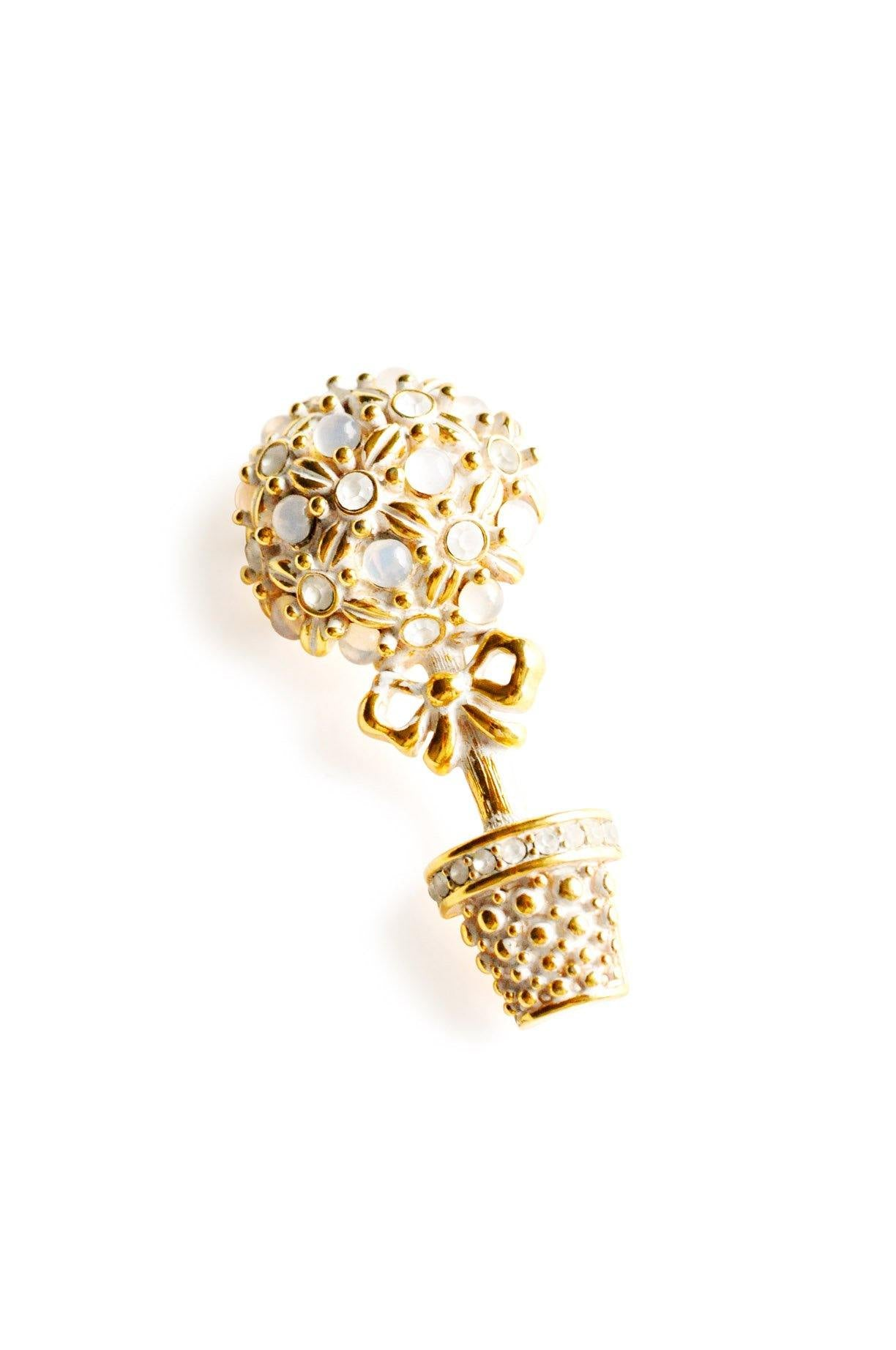 Floral Tree Brooch