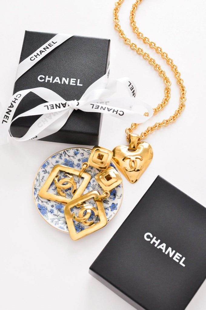 Chanel Heart Pendant Necklace